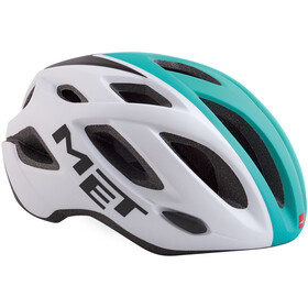 MET Idolo Helmet white shaded mint green